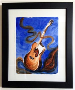 Allegro Acoustic Guitar
