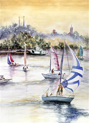 Sailboats & Steeples