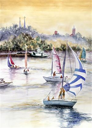 Sailboats & Steeples