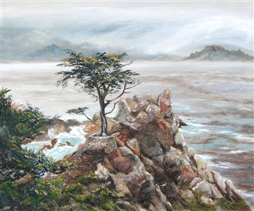 The Lone Cypress (of Pebble Beach)