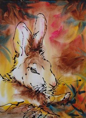 Reclining Bunny