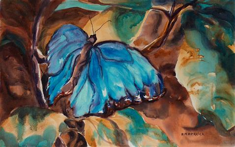 Manganese Butterfly
