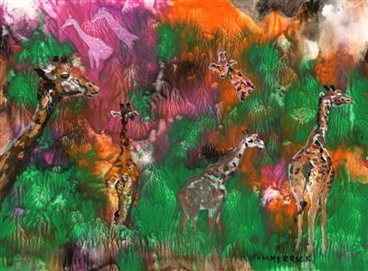 Giraffe Forest