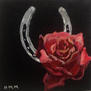 Horseshoe and Rose
