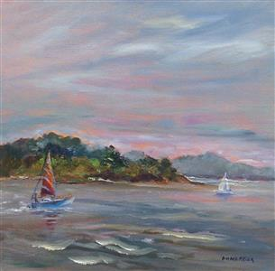 Sailboats at Twelve Mile Island