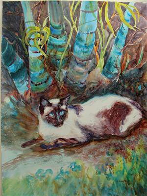 Bamboo Cat
