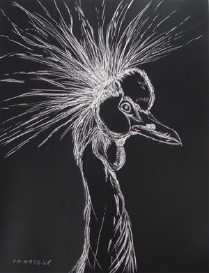 East African Crowned Crane