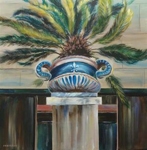 Versace's Vase 'Fleur de Lis'
