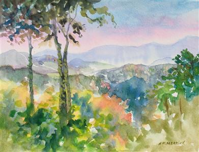 Gatlinburg Watercolor