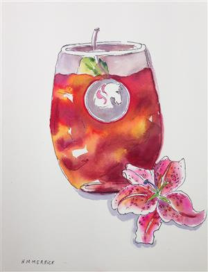 Stargazer Lily & Kentucky Oaks Drink