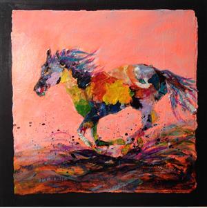 Horse Mosaic II