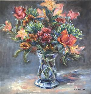 Flowers-Manet Style